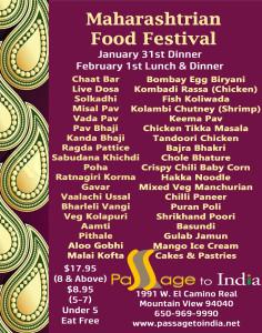 Maharashtrian Food Festival 012820