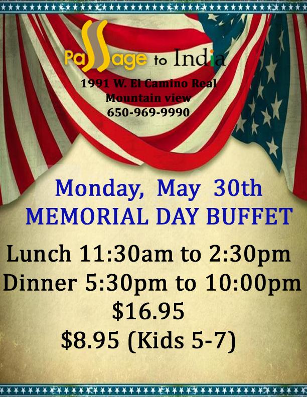 Memorial Day Restaurant