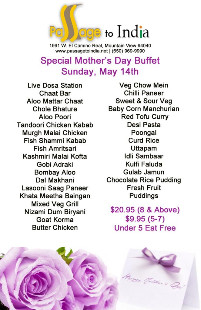 Mother's Day Restaurant 2017