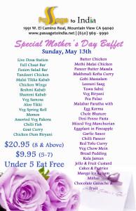 Mother's Day Restaurant 2018