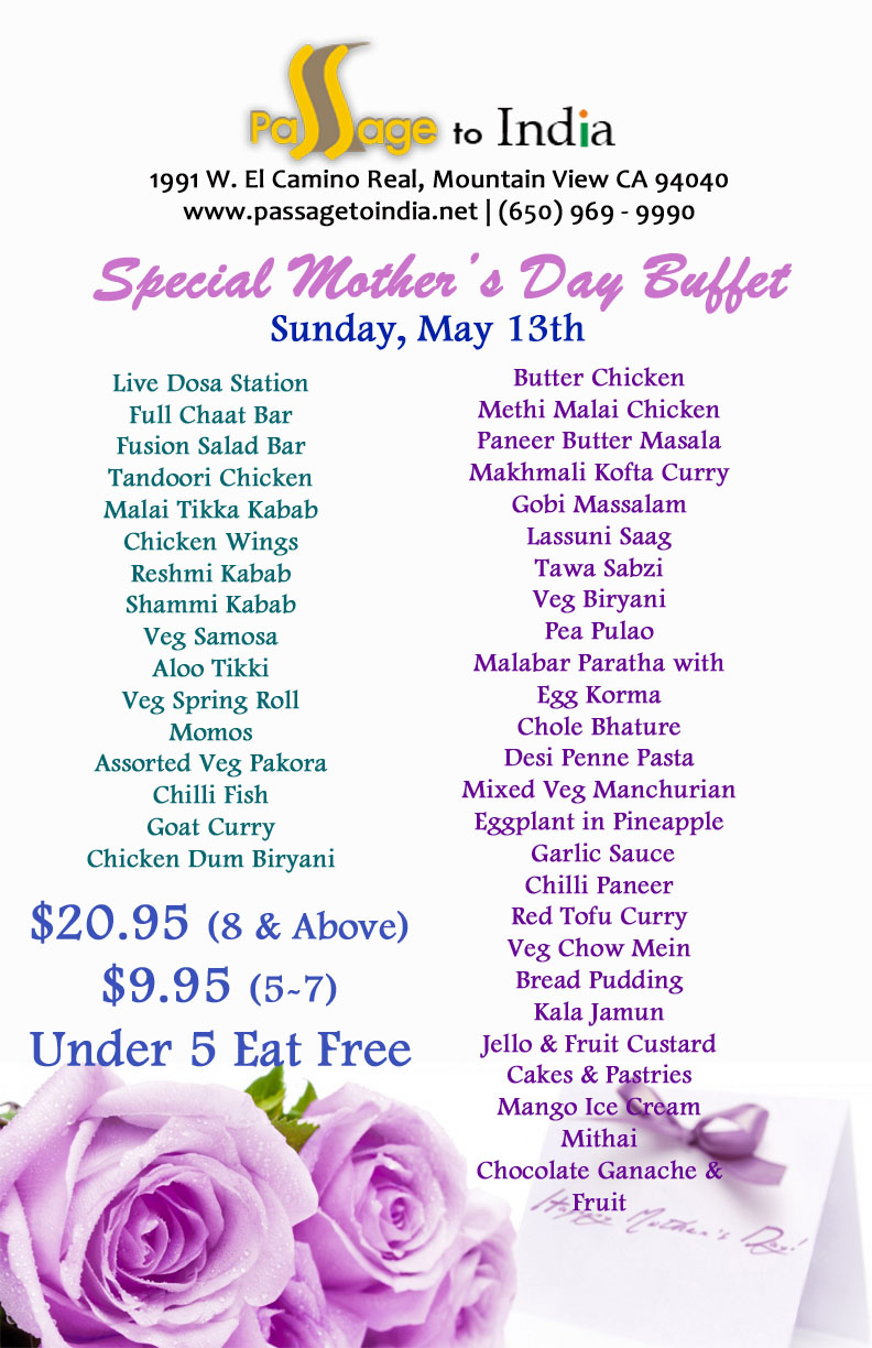 Mother's Day Restaurant 2018